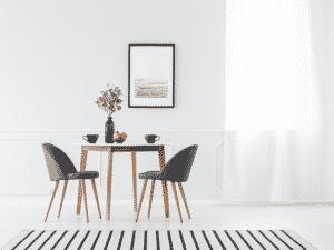 minimalistisches Wohnzimmer