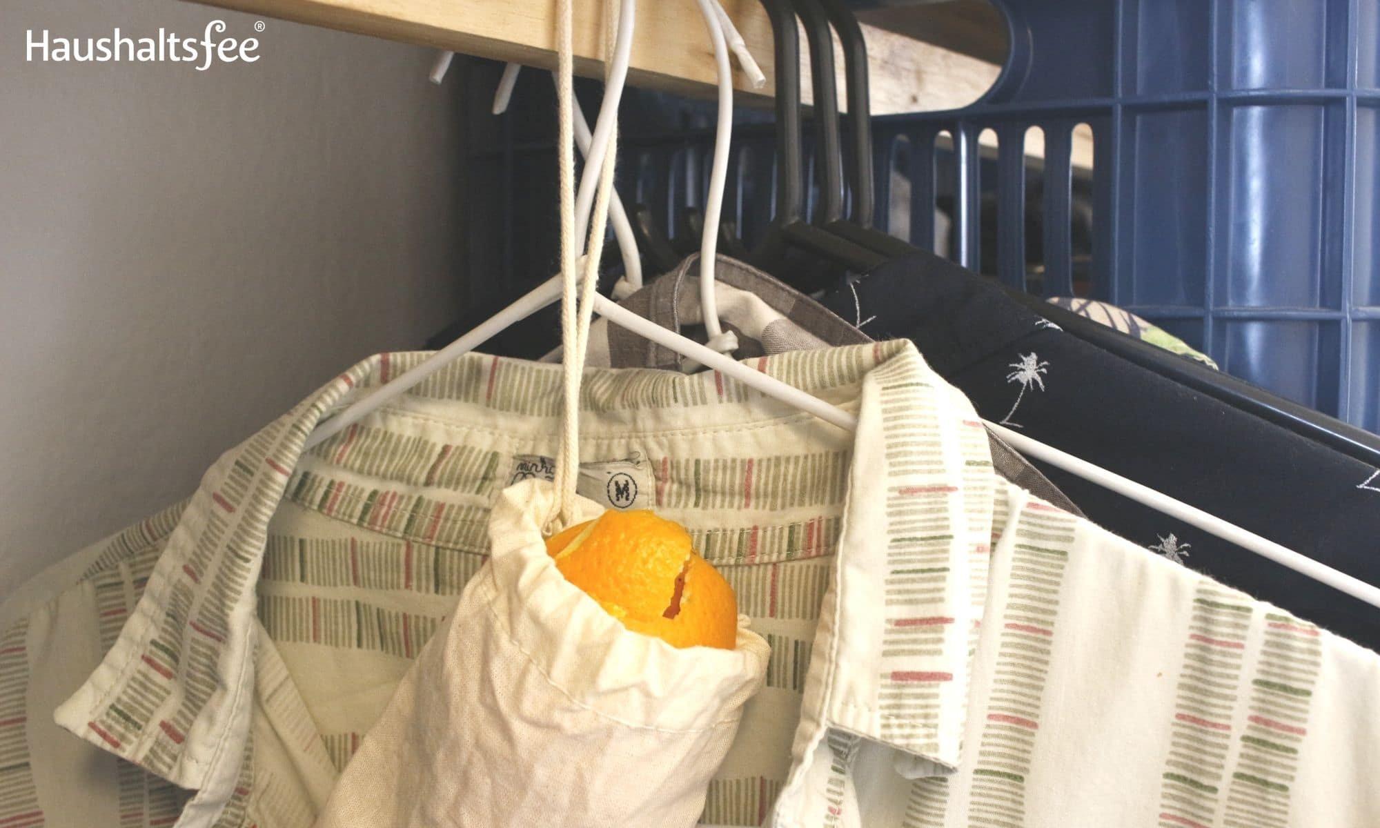 Orangenschalen im Haushalt: Gegen Motten im Kleiderschrank