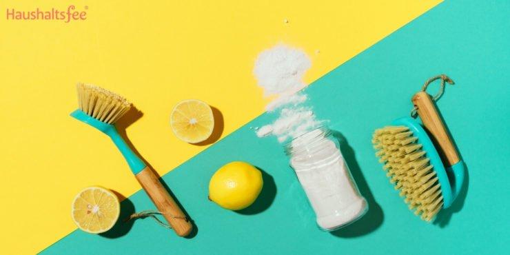 Backpulver im Haushalt zum Putzen und Reinigen verwenden