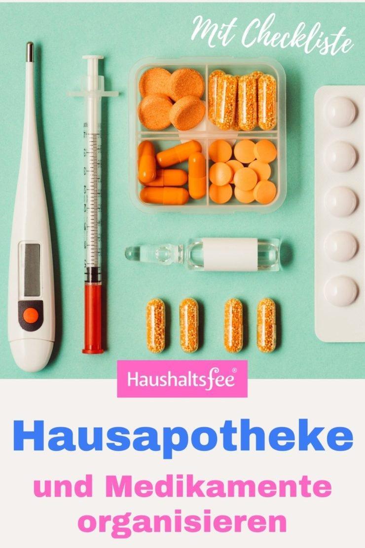 Medikamente organisieren, damit sie im Notfall sofort auffindbar sind