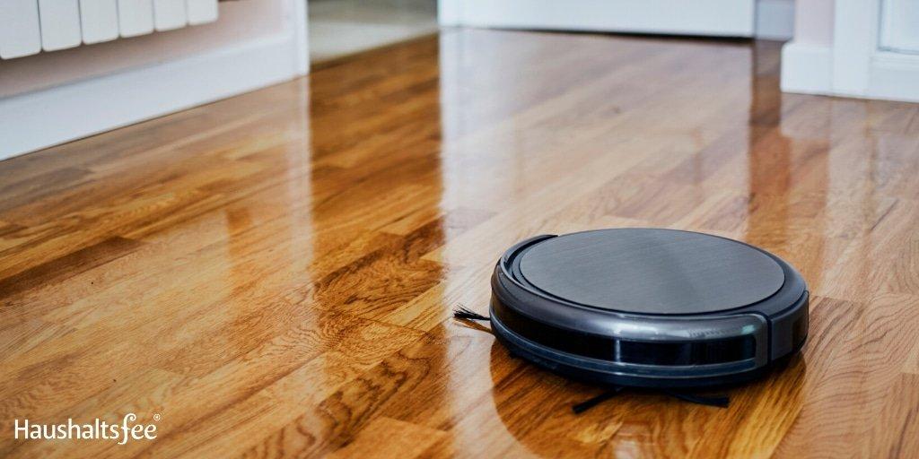 Roboter im Haushalt: Saugroboter im Einsatz