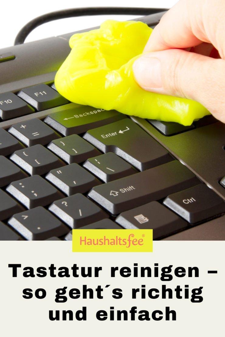 Tastatur reinigen von Desktop und Laptop