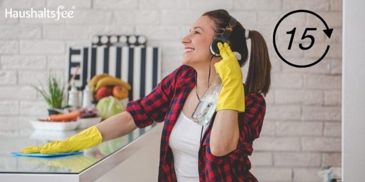 Aufgaben für 15 Minuten in der Küche