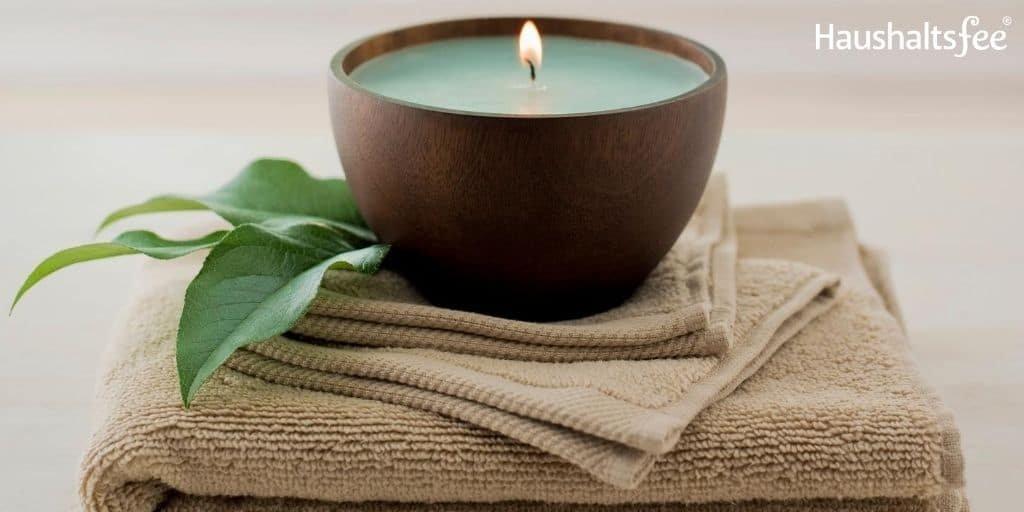 Duftende Räume im Haushalt schaffen mit Kerzen