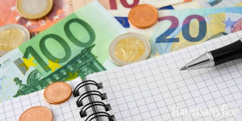 Mit einem Haushaltsbuch Geld sparen Haushalt