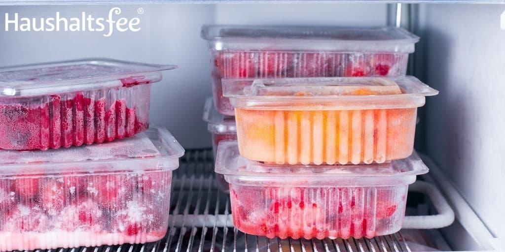 Lebensmittel haltbar machen durch Einfrieren