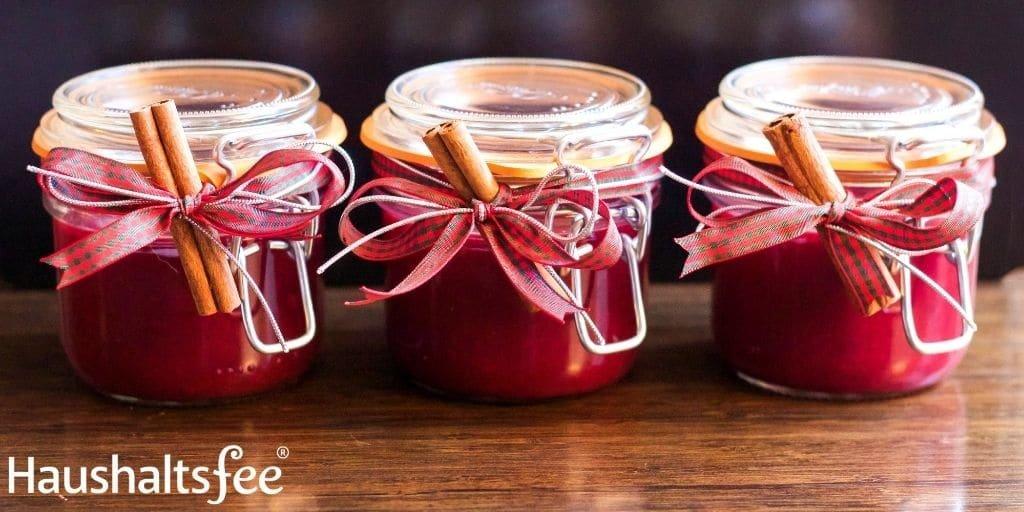 Lebensmittel haltbar machen: Marmelade einkochen
